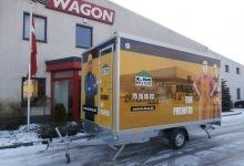 Mobile Wagen 45-Büro
