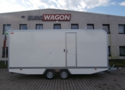Mobile trailer 64 - accommodation