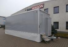 Mobile trailer 72-toilets