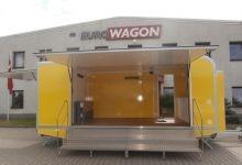 Mobile Wagen 66-Ausstellungsanhänger