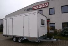 Mobile trailer 30-accommodation