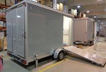 Mobile Wagen 75-Toiletten