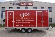 Mobile Wagen 43-Toiletten