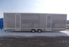 Mobile Wagen 36-Toiletten