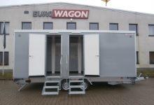 Mobile Wagen 71-Toiletten