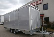 Mobile Wagen 55-Büro