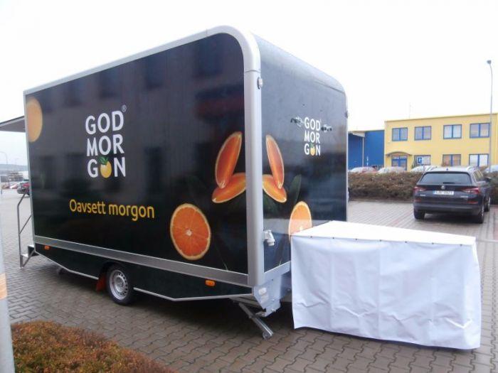 Mobile trailer 28 - promotion