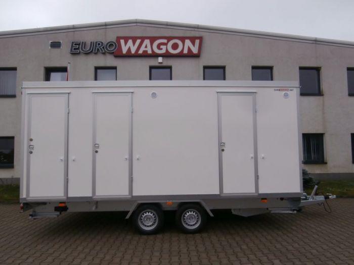 Mobile trailer 30 - accommodation