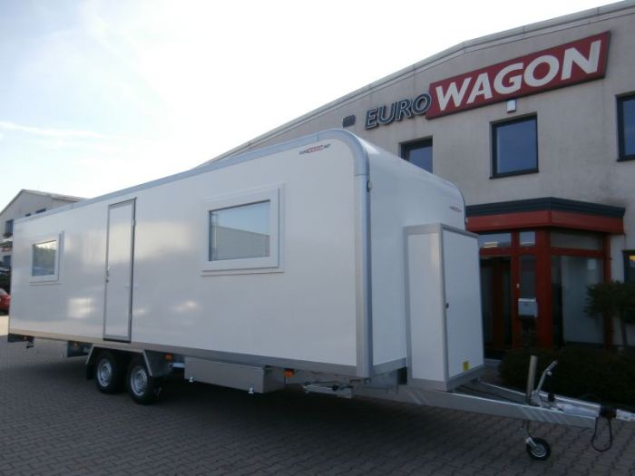 Mobile trailer 48 - accommodation