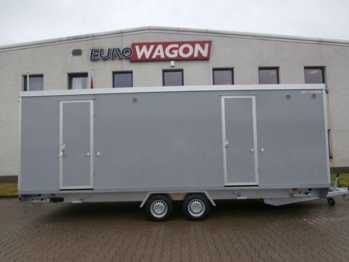 Mobile trailer 40 - toilets