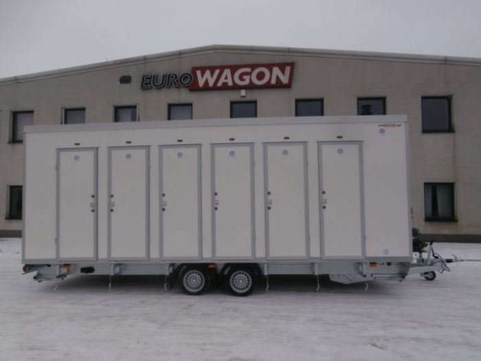 Mobile trailer 37 - showers
