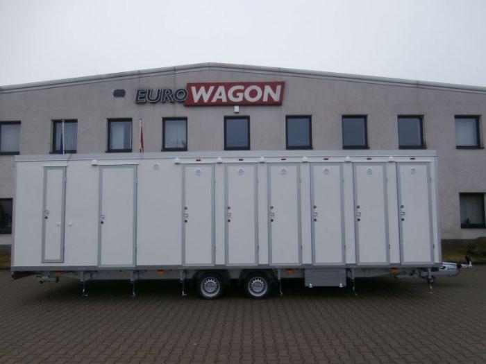 Mobile trailer 35 - toilets